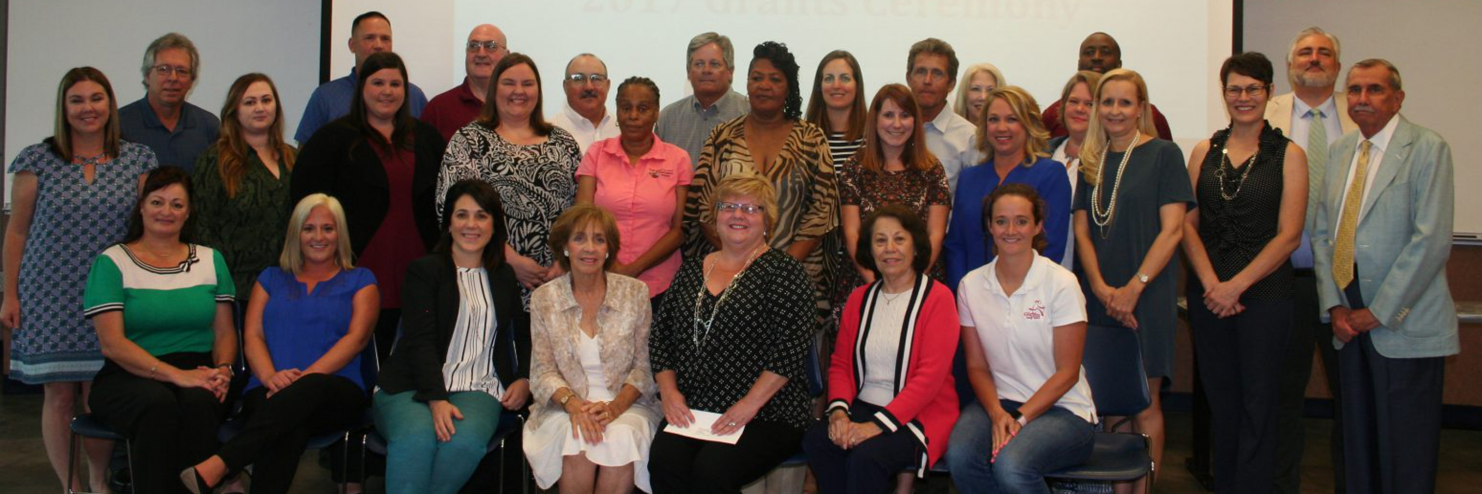 Grantee group photo